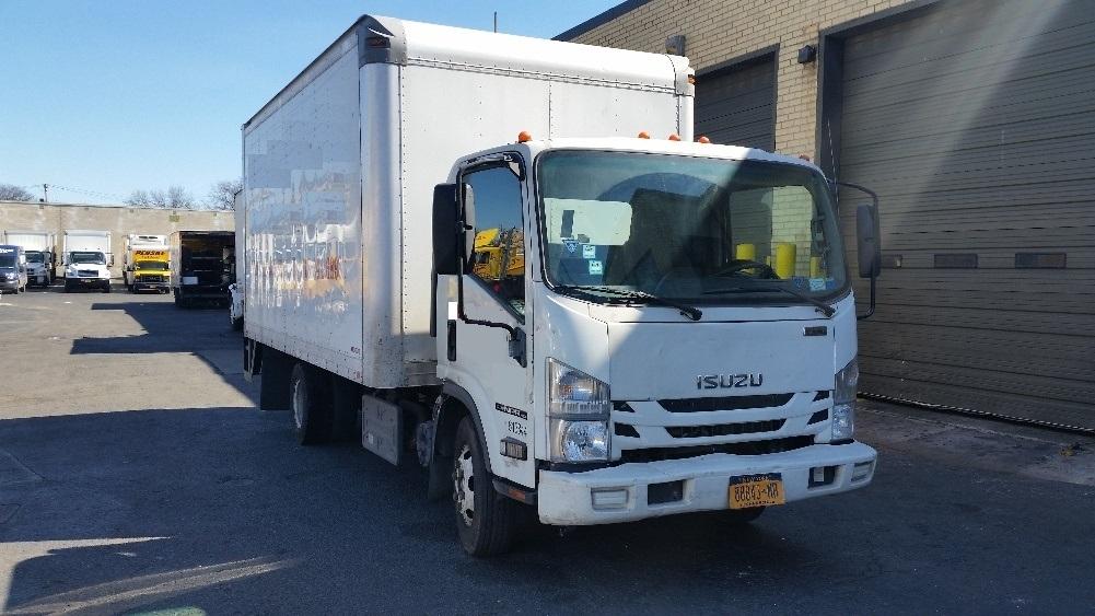 Medium Duty Box Truck-Light and Medium Duty Trucks-Isuzu-2011-NPR-WEST BABYLON-NY-97,413 miles-$23,500