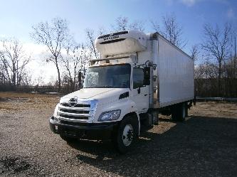 Reefer Truck-Light and Medium Duty Trucks-Hino-2012-338-TACOMA-WA-155,211 miles-$44,750