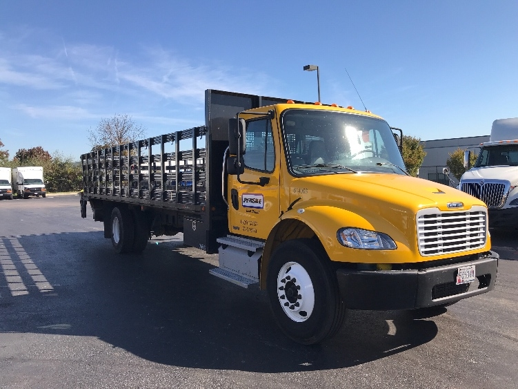Flatbed Truck-Light and Medium Duty Trucks-Freightliner-2012-M2-BALTIMORE-MD-118,930 miles-$36,750