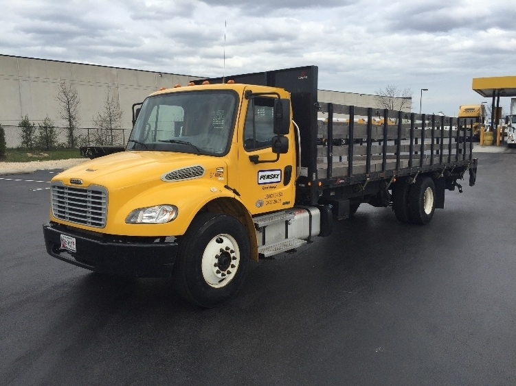 Flatbed Truck-Light and Medium Duty Trucks-Freightliner-2012-M2-BALTIMORE-MD-97,113 miles-$42,750