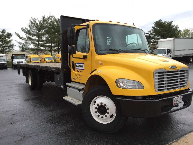 Flatbed Truck-Light and Medium Duty Trucks-Freightliner-2012-M2-BALTIMORE-MD-156,362 miles-$38,500