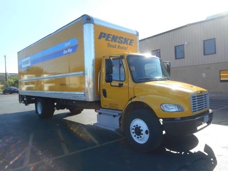 Medium Duty Box Truck-Light and Medium Duty Trucks-Freightliner-2012-M2-MILWAUKEE-WI-153,673 miles-$41,750