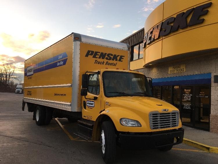 Medium Duty Box Truck-Light and Medium Duty Trucks-Freightliner-2012-M2-INDIANAPOLIS-IN-318,393 miles-$27,500
