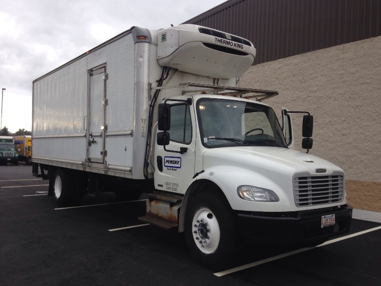 Reefer Truck-Light and Medium Duty Trucks-Freightliner-2012-M2-NEW BEDFORD-MA-143,194 miles-$44,250