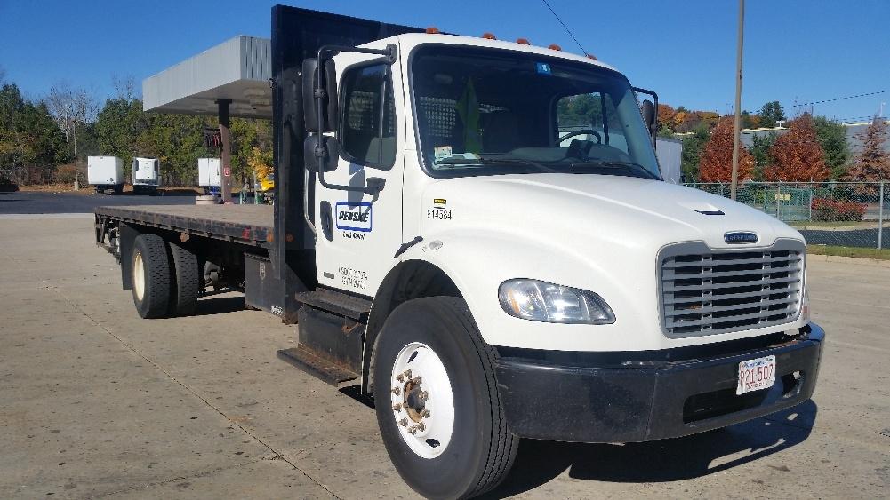 Flatbed Truck-Light and Medium Duty Trucks-Freightliner-2012-M2-FRAMINGHAM-MA-135,446 miles-$45,750