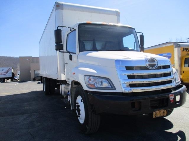 Medium Duty Box Truck-Light and Medium Duty Trucks-Hino-2012-268-ELMIRA-NY-323,178 miles-$23,250