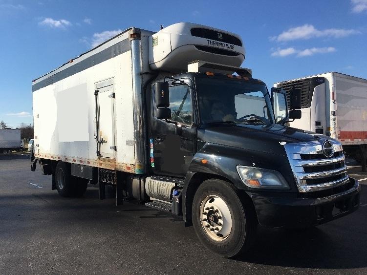Reefer Truck-Light and Medium Duty Trucks-Hino-2012-338-SWEDESBORO-NJ-145,648 miles-$29,250