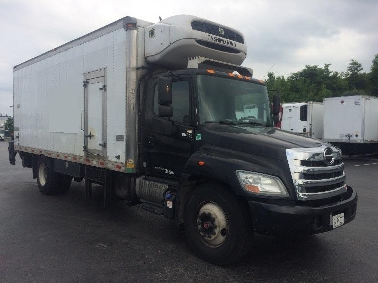Reefer Truck-Light and Medium Duty Trucks-Hino-2012-338-BALTIMORE-MD-171,005 miles-$40,250