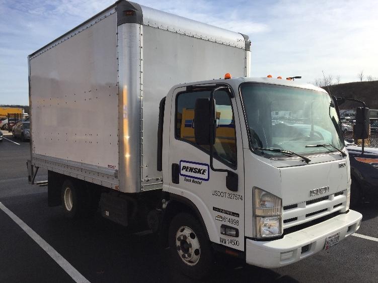 Medium Duty Box Truck-Light and Medium Duty Trucks-Isuzu-2011-NPR-JESSUP-MD-106,762 miles-$19,500