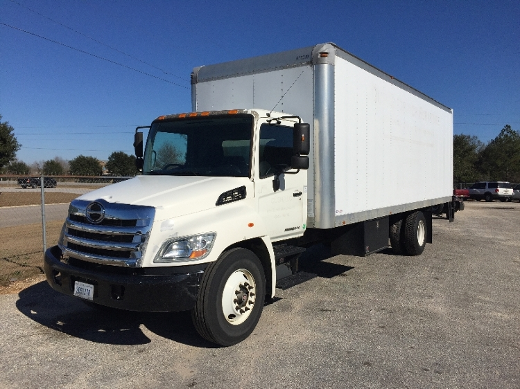 Medium Duty Box Truck-Light and Medium Duty Trucks-Hino-2012-338-MOBILE-AL-173,839 miles-$23,500