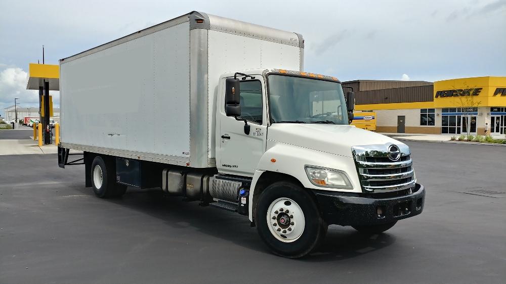 Medium Duty Box Truck-Light and Medium Duty Trucks-Hino-2012-268-MOBILE-AL-221,925 miles-$28,750