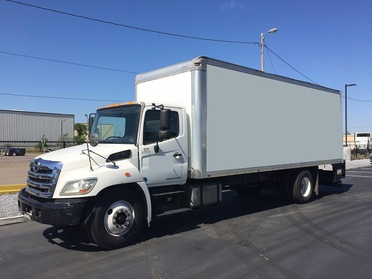 Medium Duty Box Truck-Light and Medium Duty Trucks-Hino-2012-268-MOBILE-AL-194,740 miles-$37,000