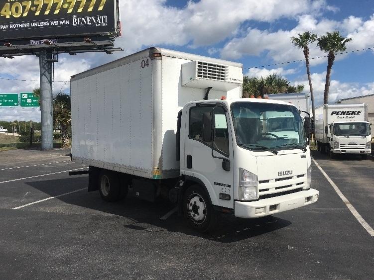 Reefer Truck-Light and Medium Duty Trucks-Isuzu-2011-NQR-ORLANDO-FL-159,318 miles-$29,750