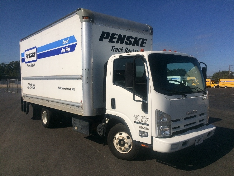 Medium Duty Box Truck-Light and Medium Duty Trucks-Isuzu-2012-NPR-SHREVEPORT-LA-166,689 miles-$19,250