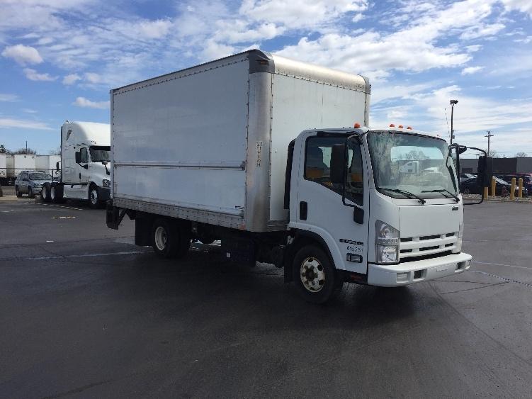 Medium Duty Box Truck-Light and Medium Duty Trucks-Isuzu-2012-NPR-WARREN-MI-131,519 miles-$22,500
