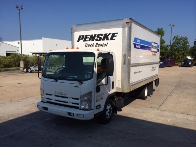 Medium Duty Box Truck-Light and Medium Duty Trucks-Isuzu-2012-NPR-BATON ROUGE-LA-155,898 miles-$25,250