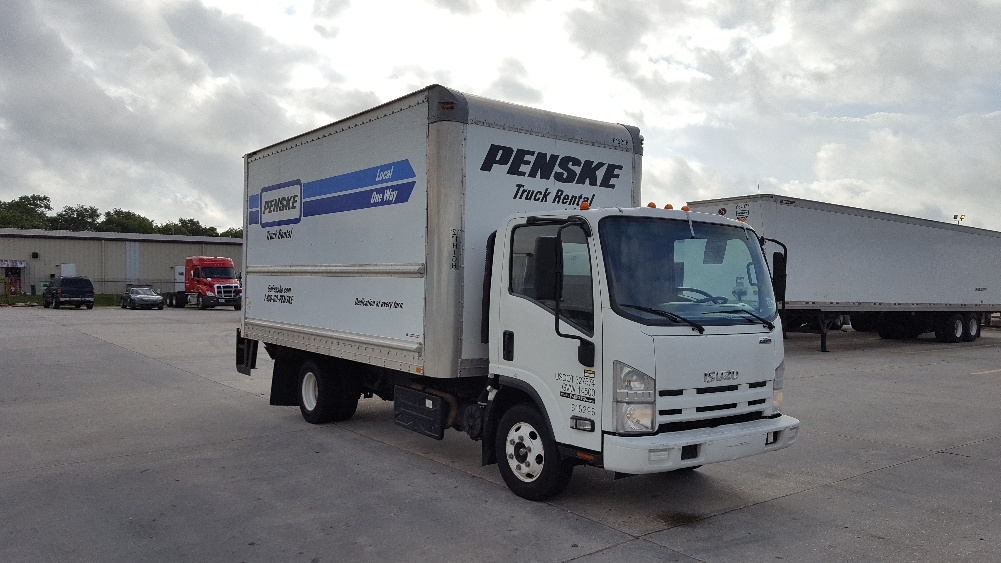 Medium Duty Box Truck-Light and Medium Duty Trucks-Isuzu-2012-NPR-HAMMOND-LA-97,583 miles-$25,500