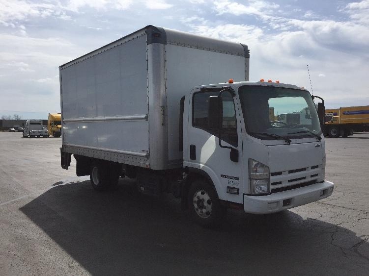 Medium Duty Box Truck-Light and Medium Duty Trucks-Isuzu-2012-NPR-WARREN-MI-130,126 miles-$22,500