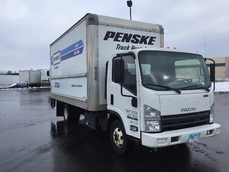 Medium Duty Box Truck-Light and Medium Duty Trucks-Isuzu-2012-NPR-ERLANGER-KY-128,347 miles-$28,000