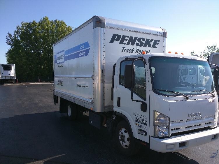 Medium Duty Box Truck-Light and Medium Duty Trucks-Isuzu-2012-NPR-DAYTON-OH-145,601 miles-$22,250