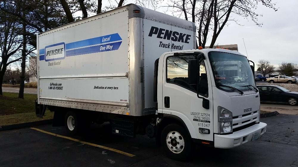 Medium Duty Box Truck-Light and Medium Duty Trucks-Isuzu-2012-NPR-EARTH CITY-MO-184,530 miles-$18,000