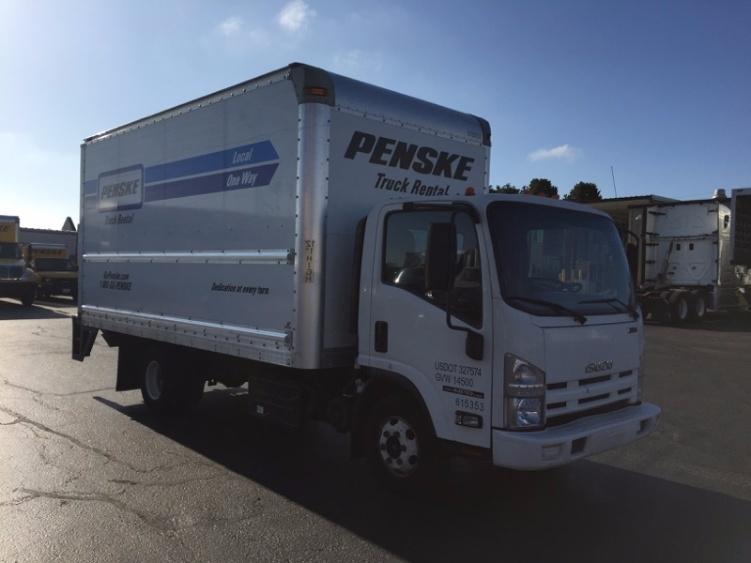 Medium Duty Box Truck-Light and Medium Duty Trucks-Isuzu-2012-NPR-PORTLAND-OR-96,799 miles-$32,500