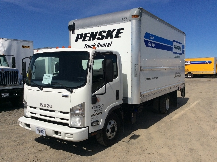Medium Duty Box Truck-Light and Medium Duty Trucks-Isuzu-2012-NPR-SPARKS-NV-147,536 miles-$27,750