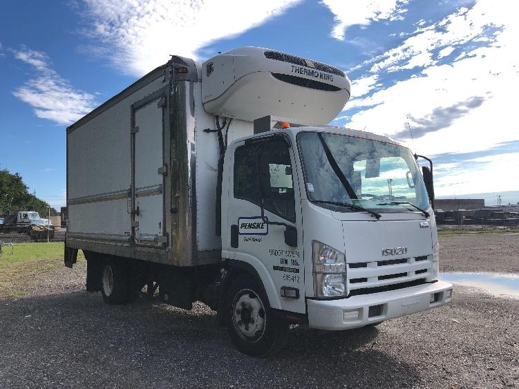 Reefer Truck-Light and Medium Duty Trucks-Isuzu-2011-NQR-PHILADELPHIA-PA-104,070 miles-$35,500