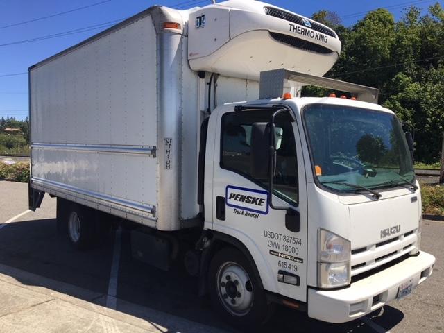 Reefer Truck-Light and Medium Duty Trucks-Isuzu-2011-NQR-EVERETT-WA-188,198 miles-$30,750