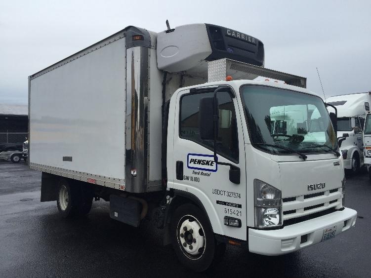 Reefer Truck-Light and Medium Duty Trucks-Isuzu-2011-NQR-TACOMA-WA-196,270 miles-$29,750