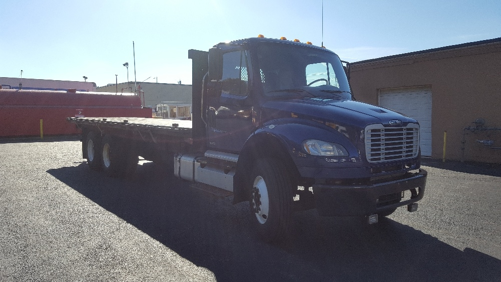 Flatbed Truck-Light and Medium Duty Trucks-Freightliner-2012-M2-LAWRENCE-MA-330,173 miles-$31,250
