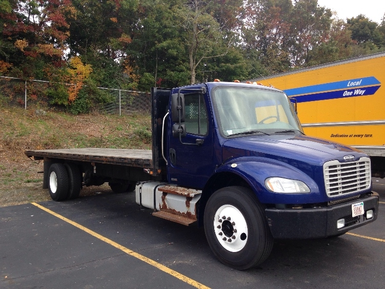 Flatbed Truck-Light and Medium Duty Trucks-Freightliner-2012-M2-LAWRENCE-MA-233,753 miles-$23,500