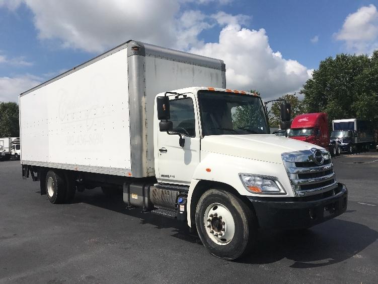 Medium Duty Box Truck-Light and Medium Duty Trucks-Hino-2012-268-NEW CASTLE-DE-127,620 miles-$44,000