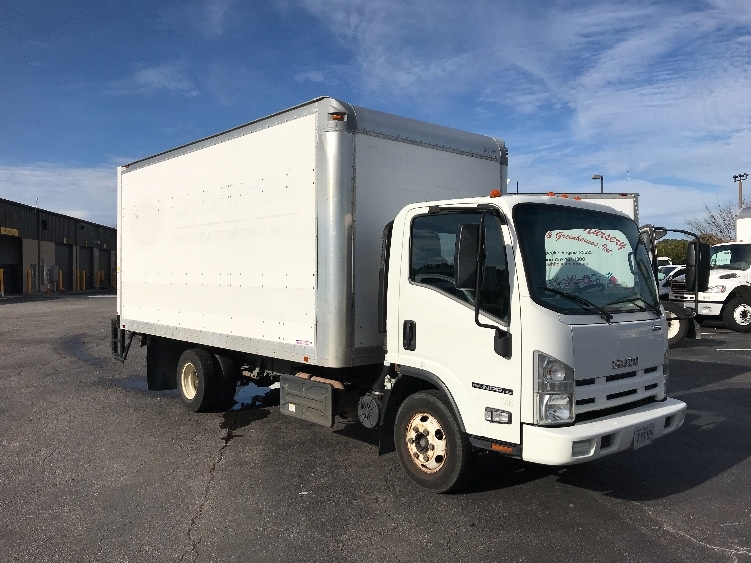 Medium Duty Box Truck-Light and Medium Duty Trucks-Isuzu-2011-NPR-CHESAPEAKE-VA-174,108 miles-$16,250