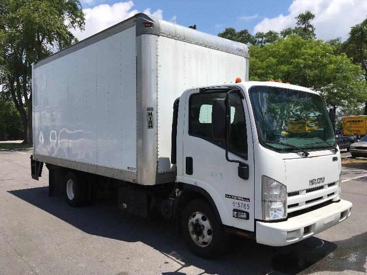 Medium Duty Box Truck-TRUCK-Isuzu-2011-NPR-INDIANAPOLIS-IN-155,770 miles-$19,000