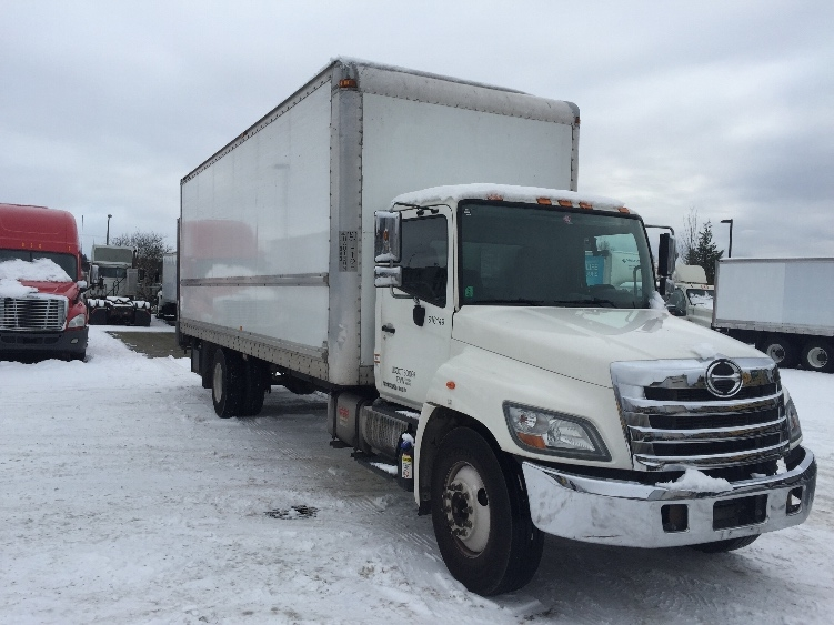 Medium Duty Box Truck-Light and Medium Duty Trucks-Hino-2012-338-DELTA-BC-166,332 km-$58,250