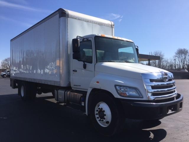 Medium Duty Box Truck-Light and Medium Duty Trucks-Hino-2012-338-BENSALEM-PA-155,886 miles-$34,750