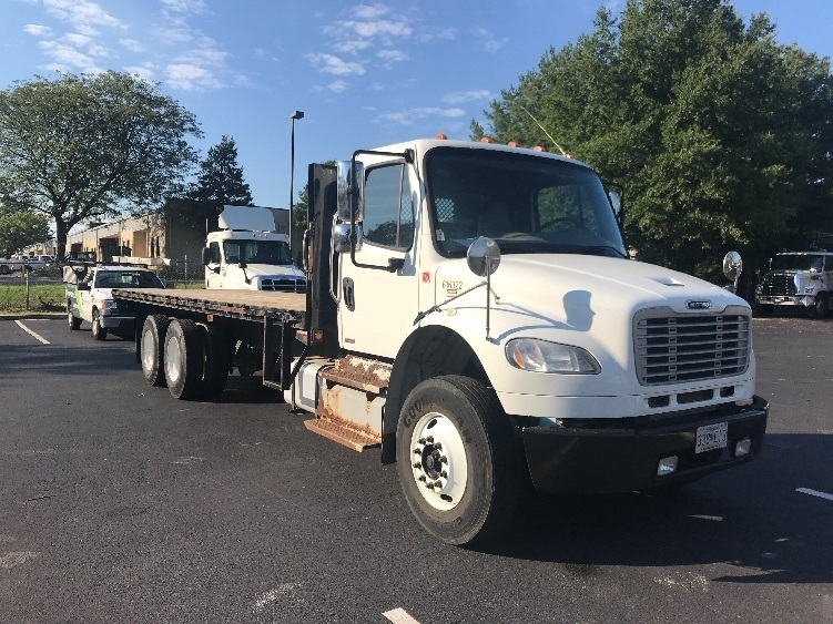 Flatbed Truck-Light and Medium Duty Trucks-Freightliner-2012-M2-CAPITOL HEIGHTS-MD-133,328 miles-$45,750