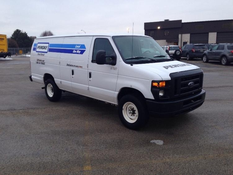 Cargo Van (Panel Van)-Light and Medium Duty Trucks-Ford-2011-E250-ROMEOVILLE-IL-84,476 miles-$13,750