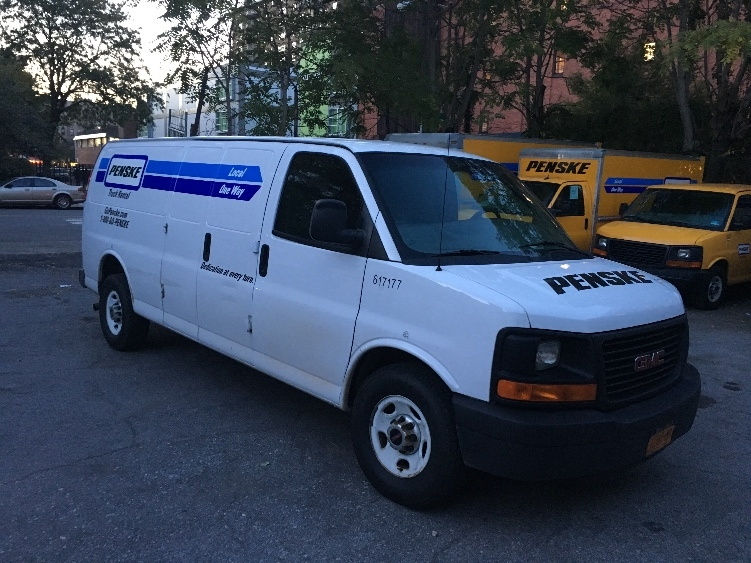 Cargo Van (Panel Van)-Light and Medium Duty Trucks-GMC-2011-Savana G23705-NORTH BERGEN-NJ-70,650 miles-$14,750