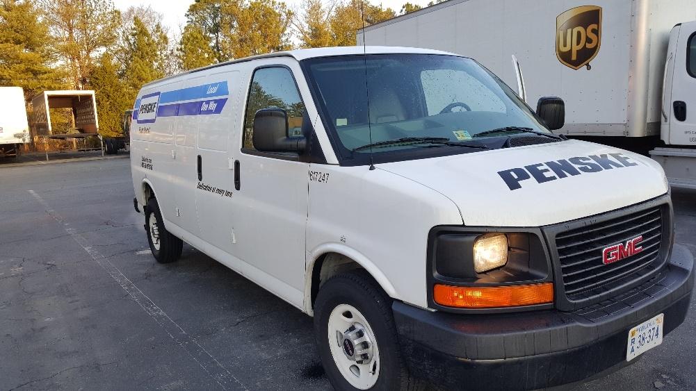 Cargo Van (Panel Van)-Light and Medium Duty Trucks-GMC-2011-Savana G23705-SANDSTON-VA-104,487 miles-$12,000