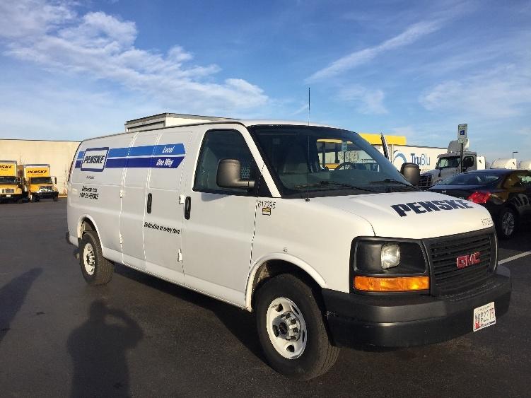 Cargo Van (Panel Van)-Light and Medium Duty Trucks-GMC-2011-Savana G23705-JESSUP-MD-95,883 miles-$13,000