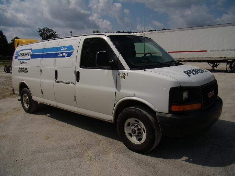 Cargo Van (Panel Van)-Light and Medium Duty Trucks-GMC-2011-Savana G23705-JACKSON-TN-180,914 miles-$10,250