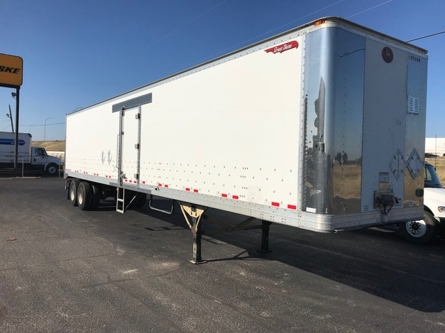 Dry Van Trailer-Semi Trailers-Great Dane-2012-Trailer-WACO-TX-191,231 miles-$13,750
