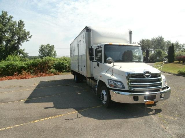 Medium Duty Box Truck-Light and Medium Duty Trucks-Hino-2012-258LP-WATERBURY-CT-108,662 miles-$41,750