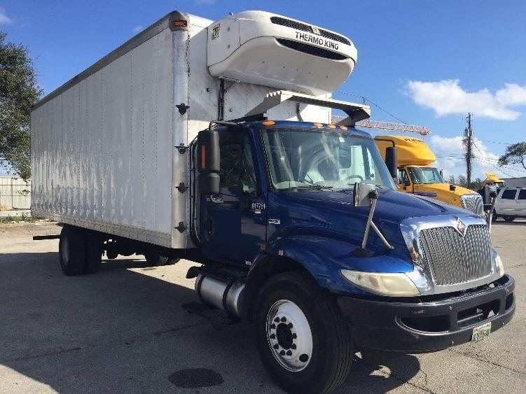 Reefer Truck-Light and Medium Duty Trucks-International-2012-4300-POMPANO BEACH-FL-160,554 miles-$43,250