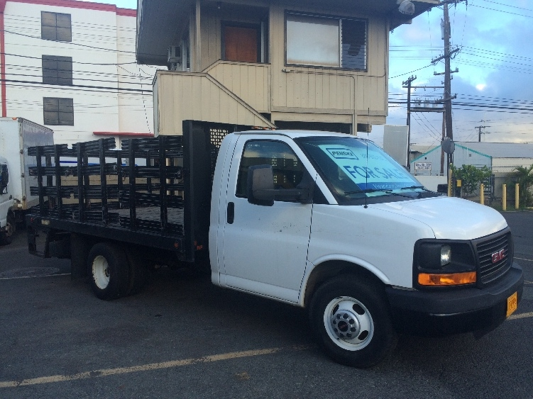 Flatbed Truck-Light and Medium Duty Trucks-GMC-2011-G33503-HONOLULU-HI-19,733 miles-$22,250