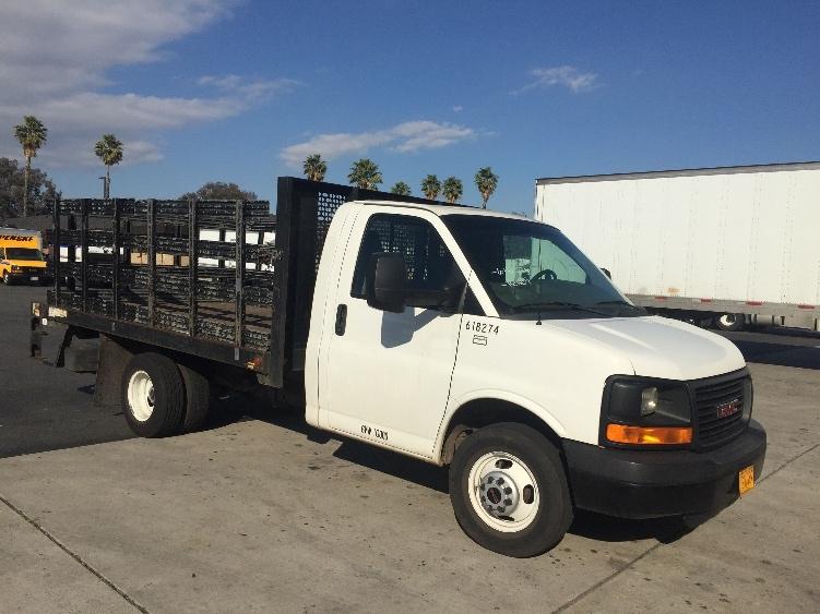 Flatbed Truck-Light and Medium Duty Trucks-GMC-2011-G33503-ONTARIO-CA-49,300 miles-$19,500