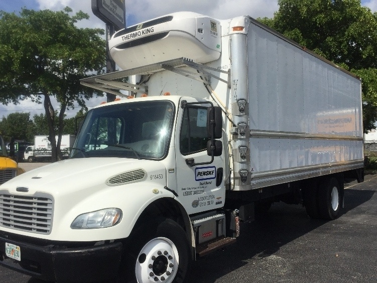 Reefer Truck-Light and Medium Duty Trucks-Freightliner-2012-M2-RIVIERA BEACH-FL-158,774 miles-$38,000