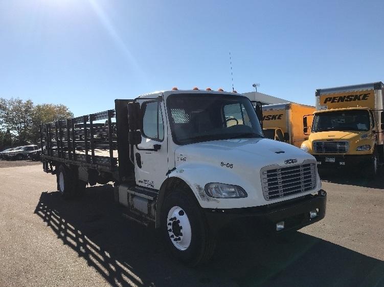 Flatbed Truck-Light and Medium Duty Trucks-Freightliner-2012-M2-LOVELAND-CO-123,992 miles-$43,250